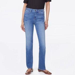 NYDJ Marilyn Straight Leg Jeans Size 4